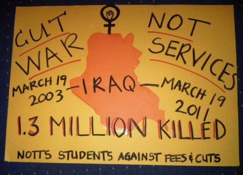 Cut War Not Services