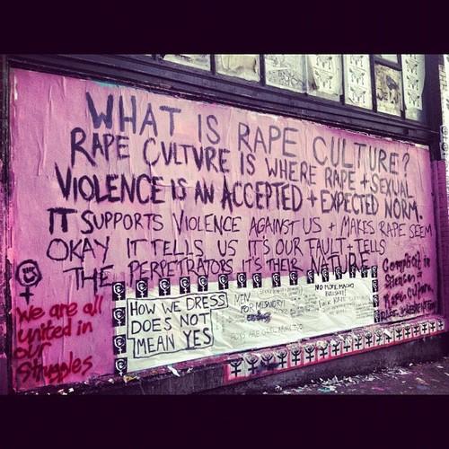 Seattle Grrrl Army Anti-Rape Culture Mural
