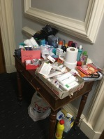 Shared resources - toiletries